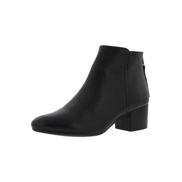 d1bcfeac242 Steve Madden Womens Ilana Ankle Boots Leather Covered - 5 medium (b,m)