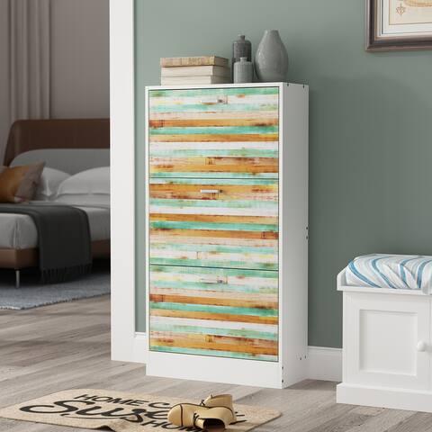 FUFU&GAGA 3-tier Shoes Cabinet Storage
