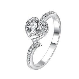 Petite Mock Crystal Jewels Modern Ring