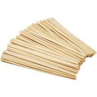 """Natural 7.5"""" 80/Pkg - Craft Stir Sticks"""
