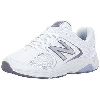 New Balance Womens WW847GY3 Low Top Lace Up Running Sneaker