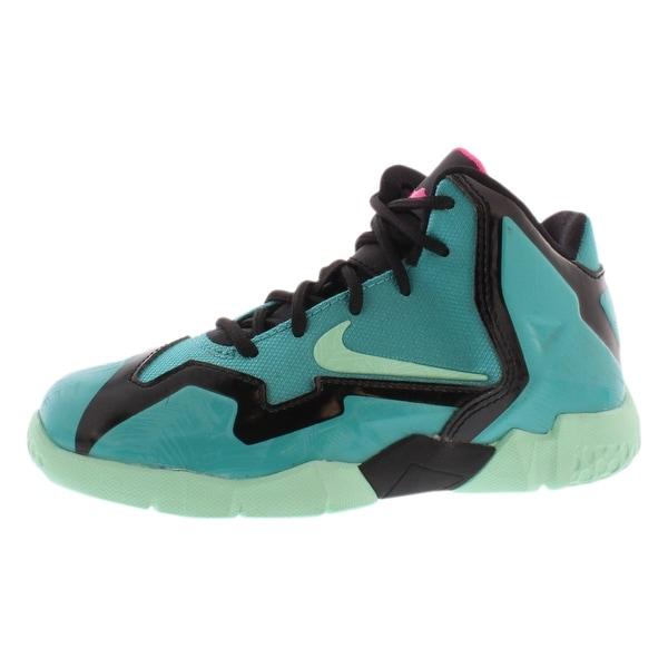 detailed look 34a42 a9ba0 Shop Nike Lebron Xi Preschool Boy's Shoes - 11 M US Little ...