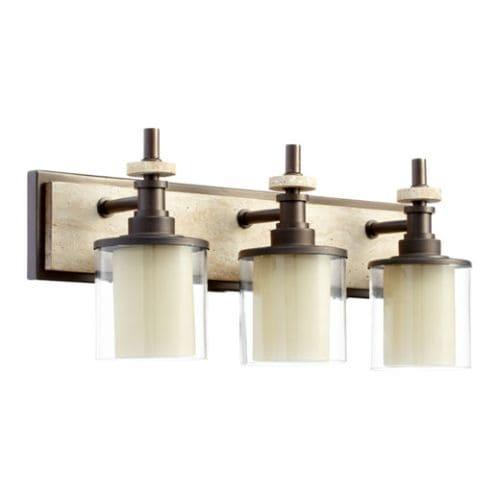 Quorum International 5064-3 Concord 3 light Bathroom Fixture