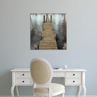 Easy Art Prints Alan Blaustein's 'Annecy Pier' Premium Canvas Art