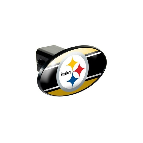 7d9172a6 Great American Products Pittsburgh Steelers Oval Trailer Hitch Cover Oval  Trailer Hitch Cover