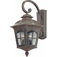 """Volume Lighting V8271 Leeds 2 Light 21.5"""" Height Outdoor Wall Sconce with Water"""