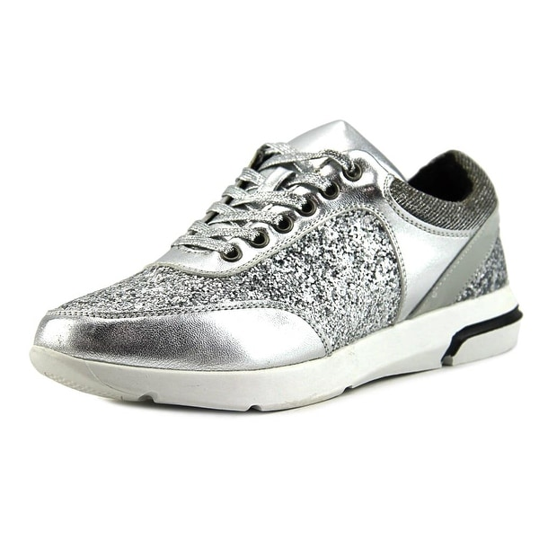 Wanted HAYES-BLK Women Silver Sneakers Shoes