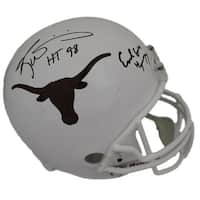 Earl Campbell  Ricky Williams Autographed Texas Longhorns Replica Helmet HT JSA