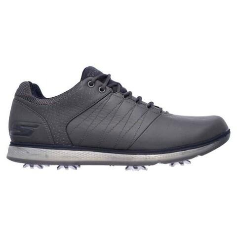 Skechers Men's GO GOLF PRO 2 Charcoal/Navy Golf Shoes 54509/CCNV