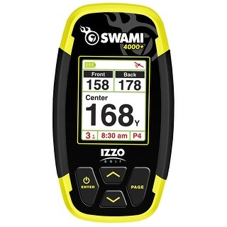 IZZO Swami 4000+ Handheld Portable Golf GPS
