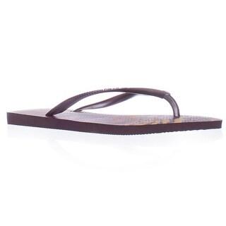Havaianas Slim Flip Flops - Purple Multi