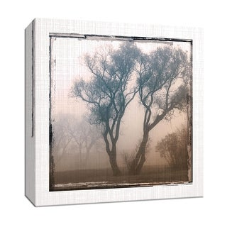 "PTM Images 9-147046  PTM Canvas Collection 12"" x 12"" - ""Foggy Light II"" Giclee Rural Art Print on Canvas"