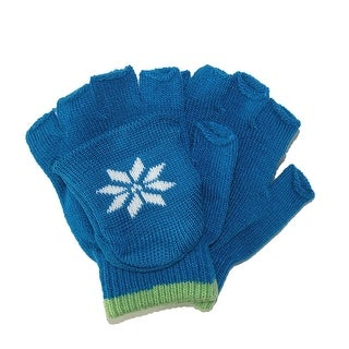 CTM® Boys' Stretch Convertible Fingerless Winter Gloves - One Size