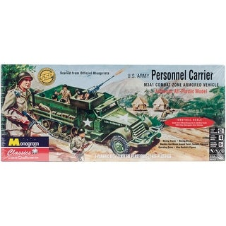 Plastic Model Kit-Personal Carrier Half Track