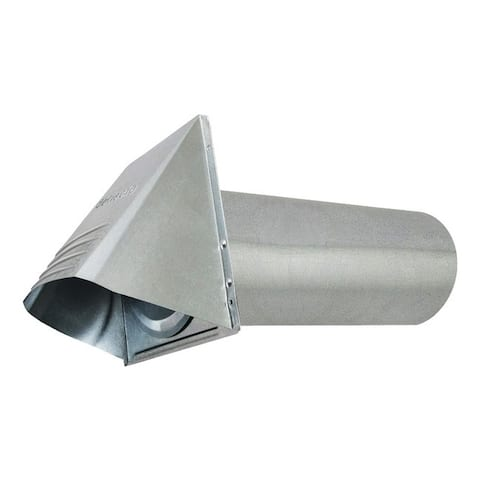 Deflecto gvh4 4 wide-mouth galvanized vent hood