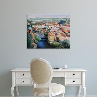 Easy Art Prints Esther Engelman's 'Mosaic' Premium Canvas Art