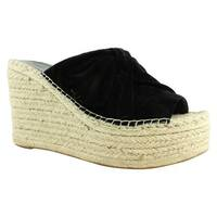 Marc Fisher Womens Aida Black Espadrilles Size 10