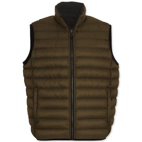 Hawke & Co. Mens Reversible Puffer Vest - Big 2X