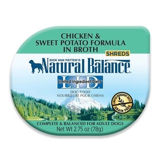 Natural Balance LID Chicken & Sweet Potato in Broth Dog Food 24ea/2.75oz