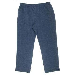 Karen Scott Womens Lounge Pants Fleece Casual