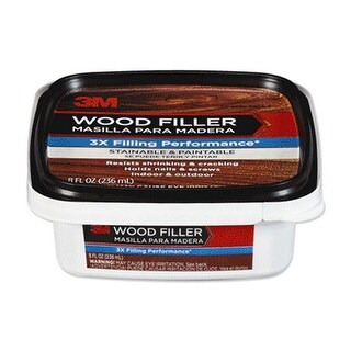 3M WF-STAINABLE-8 Wood Filler, 8 Oz.