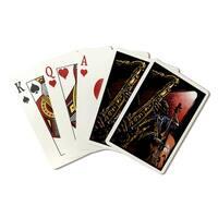 Jazz Band - Scratchboard - LP Artwork (Poker Playing Cards Deck)