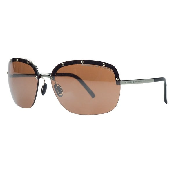 Porsche P8576-B Gold Square Sunglasses - 65-15-135