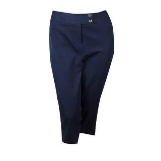 Alfani Women's Tummy Control Capri Pants