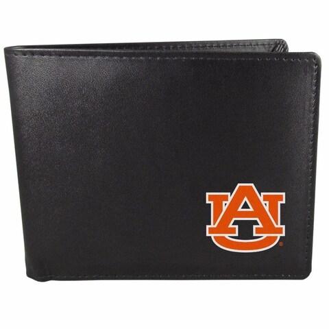 Auburn Tigers Bi-fold Wallet Black ID Window Bifold