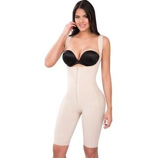 Powernet Butt Lifter Full Body Shaper Post-Surgery Postpartum Girdle Fajas Colombianas Nude 610 by Fiorella Shapewear