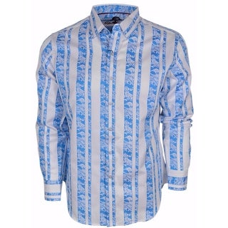 Robert Graham Men's Classic Fit Mincing Lane Paisley Sport Shirt XL