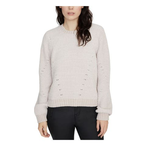 SANCTUARY Womens Pink Long Sleeve Crew Neck Sweater Size M