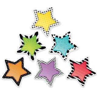 6In Bold Bright Stars Cut Outs