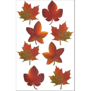 Martha Stewart Stickers-Assorted Leaves