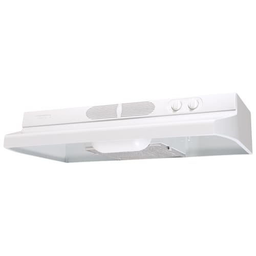 """Air King QZ236 36"""" 250 CFM Under Cabinet Range Hood with Infinite Speed Controls from the Quiet Zone Collection"""
