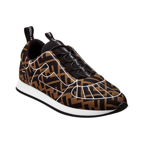 Shop Fendi Ff Motif Sneaker - On Sale