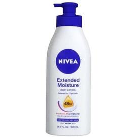NIVEA Extended Moisture Body Lotion, 16.9 oz