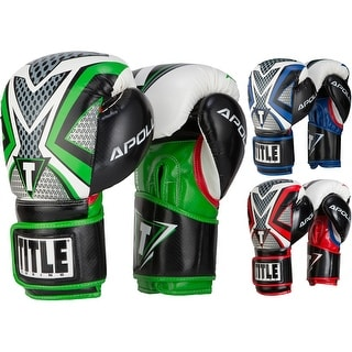 Title Boxing Apollo Infused Foam Hook and Loop Training Gloves