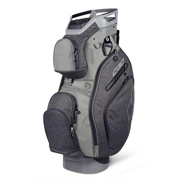 New 2019 Sun Mountain C-130 Golf Cart Bag (Iron / Cement) - Iron / Cement