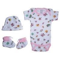 Bambini Girls Baby Gift Set - Size - Newborn - Girl