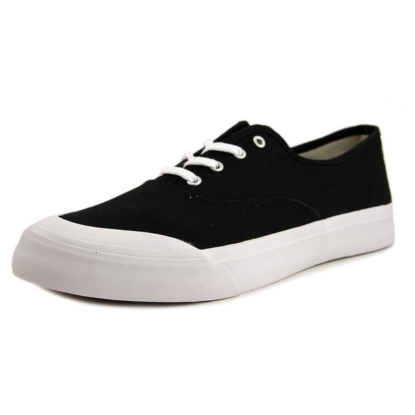 HUF Cromer Men Round Toe Canvas Black Skate Shoe
