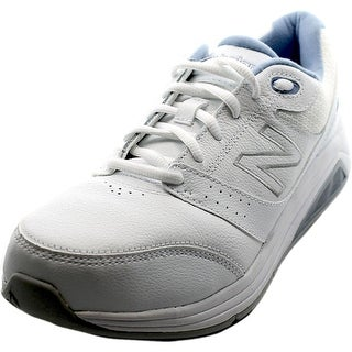 New Balance WW928 Women Round Toe Leather Sneakers
