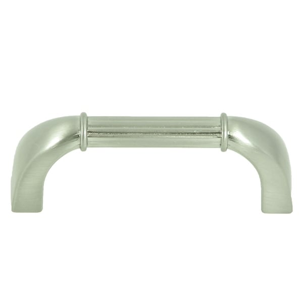 Stone Mill Hardware   Satin Nickel Athens Bar Cabinet Pulls (Pack Of 10)