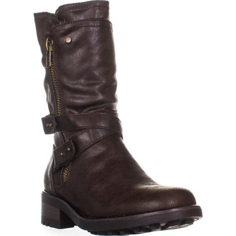 24c109fd101 Buy Brown Carlos by Carlos Santana Women's Boots Online at Overstock ...