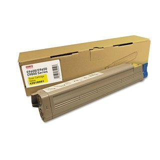 Okidata - Toner Cartridge - Yellow - 16500 Page(S)