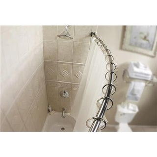 CSI Donner Chrome Curved Shower Rod DN2160CH Unit: EACH