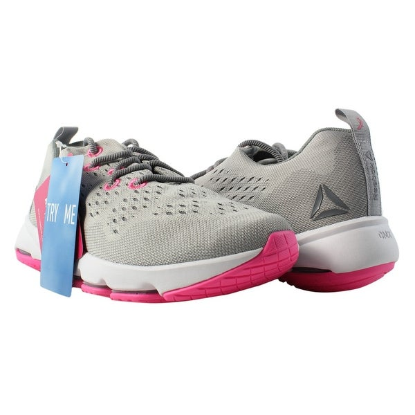 Shop Reebok Womens Cloudride Ls Dmx Gray Walking Shoes Size