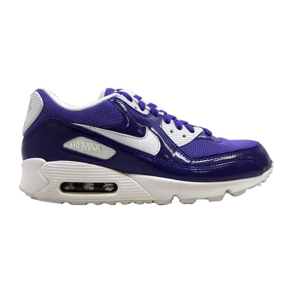 Shop Nike Air Max 90 Leather Purple White 325213 511 Women S