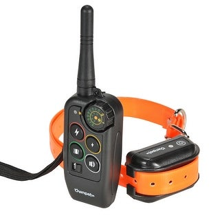 Ownpets Remote Controlled Dog Training Collar,Rechargeable and Waterproof,All Size Dogs(10Lbs - 100Lbs),1000 yards Range
