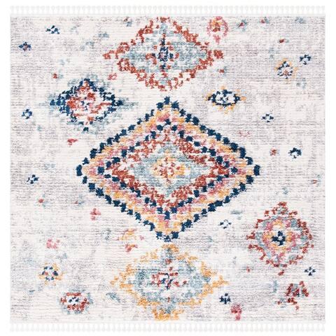 Safavieh Morocco Bohemian & Eclectic Tribal Cream/Multi Polyester Rug